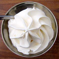 Tips para preparar una buena Crema Chantilly