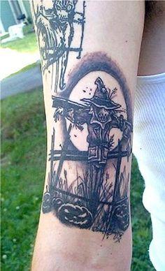 7-Scarecrow Tattoos