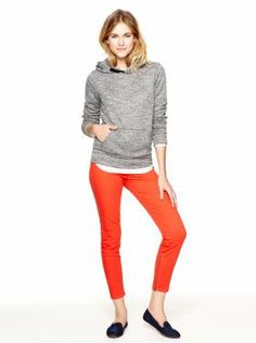 Women's Clothing | Gap >> Love this outfit! The orange jeans are super cute!