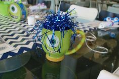 Pixar's Monsters University Birthday Party Ideas   Photo 2 of 24   Catch My Party
