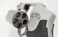 The Performance Center Model 642 has moon clip cutouts in the cylinder.