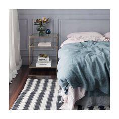 Storm blue duvet blush sheets and soft grey bed skirt. @societyofwanderers  Double tab for more images.  #fortheloveoflinen #linen #bedlinen #tellmemore #interior4all #linenbedding #pureline #purelinenutrition #interiordecor #bedroomdecor #bedroominspiration #handmade #handmadebedding  #tailoredmade #instadaily #bluebedding