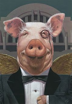 C. F. Payne Classy Pig.