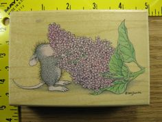 Stampinsisters Rubber House Mouse Sensory Overload Stampabilities rare  #2149 #Stampabilities