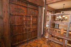 Coat closet, lodge style.