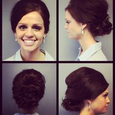 Hair by Kristin Airbrush Makeup 507-369-5140 or check us out on Facebook.  www.facebook.com/allurespalon  #updo #specialoccasion #prom #wedding #promhair #weddinghair #airbrushmakeup #weddingmakeup #prommakeup