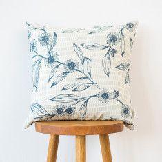 Bluestone Hakea & Bracken cushion cover