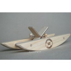 Wooden Toy Paddle Boat