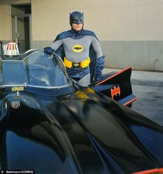 The Batmobile bought for a buck sells for $4.6 Million smackers (pictured with Adam West as Batman) uses a V8 engine and automatic gearbox.