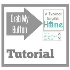 "A Typical English Home: Creating A ""Grab My Button"""