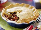 Chili Pie with Cornmeal Crust
