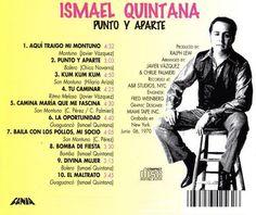 """Ismael Quintana - """"Punto y aparte"""""""
