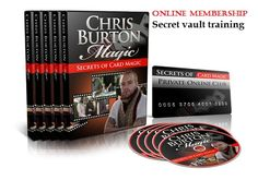 Have Instant Access To Online Member's Area For The Latest In Info-Video Learning!  Step-By-Step Video Explanations Of Card Magic, Sleight Of Hand. Card Flourishes, PLUS  Much MORE!  Don't Pass This By If You Are A Serious Working Magician Or Wish To Be!