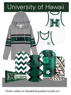 """University of Hawaii Manoa"" by camik on Polyvore"