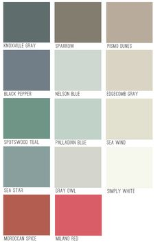 Kwal Paint Color Chart Paint Chart Chip Sample