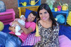Vânia e família
