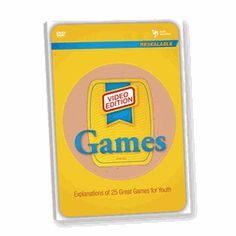 Games- VIDEO EDITION!!   All kinds of games from Whacked-out, run-till-you-drop games to sedate, quiet games for small groups