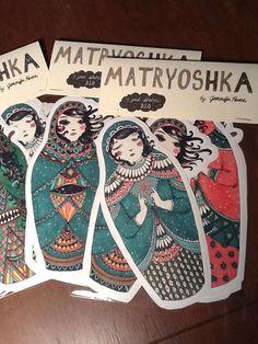 Matryoshka Sticker Set