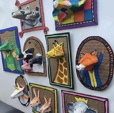 Bekijk de foto van knutseldeprutsel met als titel Een mega leuke DIY om met de kids thuis, of bijvoorbeeld in de klas te doen! en andere inspirerende plaatjes op Welke.nl. School Art Projects, Projects For Kids, Diy For Kids, Fun Crafts, Arts And Crafts, Animal Crafts, Animal Art Projects, Craft Activities For Kids, Recycled Art