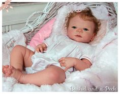 """Custom Order for Full Bodied Soft """"Silicone-Like"""" Vinyl Victoria or Other Reborn Doll"""