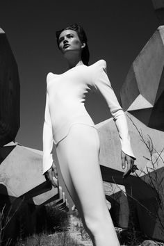 Elegance in Cement on Fashion Served