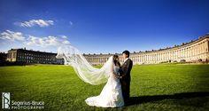 Royal Crescent, Bath Wedding Photography