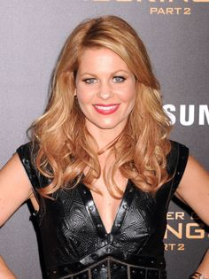 Candace Cameron Bure – The Hunger Games: Mockingjay, Part Screening in NYC - FilmoFilia Candice Cameron Bure, Candance Cameron, Bombshell Beauty, Mockingjay, Celebs, Celebrities, Hunger Games, Beautiful Women, Nyc