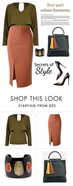 """STYLED BY LIZ"" by elizabethhorrell ❤ liked on Polyvore featuring River Island, Scanlan Theodore, Ashley Pittman and Ashley Stewart"
