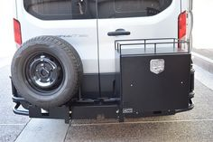 Ford Transit van with Aluminess rear bumper and Galley box