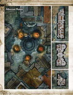 its a pathfinder map