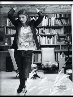 Chiara Mastroianni / L'Officiel - Septembre 2013