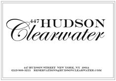 Hudson Clearwater, New York, NY