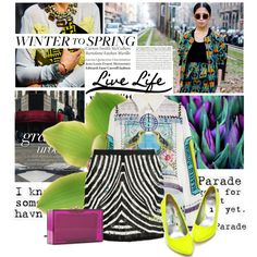 winter to spring, created by asya-1 on Polyvore