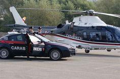 Carabinieri Alfa Romeo e elicottero