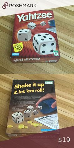 New in sealed box Yahtzee game New in sealed box Yahtzee game parker brothers Toys Puzzles & Games