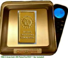 Perfect Scrap Jewelry Scale, Weigh Over 20 Ounces Gold, Silver + 5 Gram Gold Test Ba  Price:	$19.99
