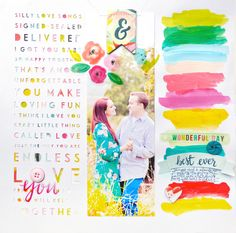 Chris and Paige: Love You Layout for Kerri Bradford Studio