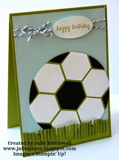Football Card (Julie's Japes)