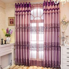 Modern Curtains, Home Decor, Decoration Home, Room Decor, Interior Design, Home Interiors, Interior Decorating