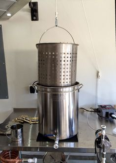 The Screwy Brewer: The Ultimate Electric Brew In A Bag Brewday – Brewing Equipment Make Beer At Home, How To Make Beer, Brew In A Bag, Brew Stand, All Grain Brewing, Beer Brewing Kits, Home Brewing Equipment, Home Brewery, Beer Recipes
