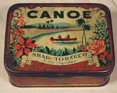 Vintage cigarette tins your place