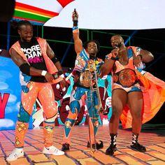 New Day: Kofi Kingston, Xavier Woods and Big E Xavier Woods, Champion, Wwe News, Wwe Superstars, New Day, Photo Galleries, Wrestling, Kingston, Big
