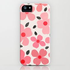 Dogwood Vintage Pink - iPhone & iPad Case by Garima Dhawan/Society6