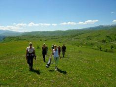 Hiking around Piva Lake on the 2 day Activity Break in Montenegro.