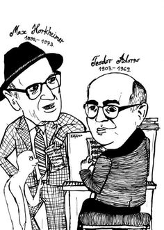 [click on this image to find a clip which illustrates Max Horkheimer's (left) and Theodor W. Adorno (right) concept of the Culture industry]