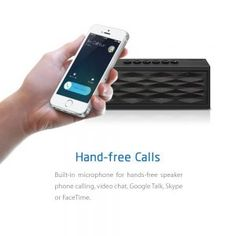 There are various kinds of portable speakers on the market. To buy one, you do not have to empty your bank account. Bluetooth Gadgets, Best Portable Bluetooth Speaker, Bluetooth Speakers, Ipad 4, Ipad Mini, Google Talk, Good And Cheap, Facetime, Smartphone