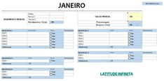 Planilha Financeira para começar 2019 » Latitude Infinita Actifry, Bar Chart, Budgeting, Organization, Sim, Planners, Money Saving Tips, Investing Money, Finance Organization