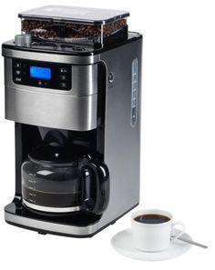 MEDION MD 15486 Kaffeemaschine mit Mahlwerk 1,5L 8 Mahlstufen programmierbarsparen25.com , sparen25.de , sparen25.info