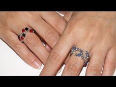 ▶ Anillo Fantasia - DIY - Fancy Ring - YouTube