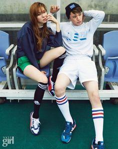 2014.07, Vogue Girl, Jin Jung Sun, Choi Min Soo